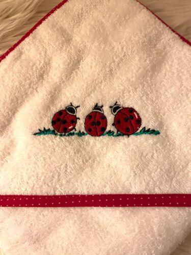 Wörner kapuzenhandtuch mit Applikation und Namen, Handtuch, Badetuch