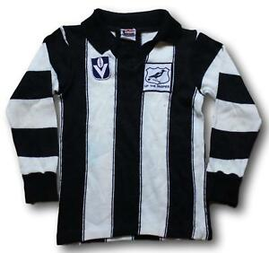 Retro-Collingwood-Jason-Knitting-Mills-VFL-Football-Jumper-Guernsey-Size-8-10