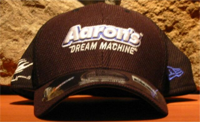 best service dac4f 5504a Men s M L New Era 39THIRTY NASCAR Aaron s Driver VICKERS 55 Fitted Hat Ball  Cap