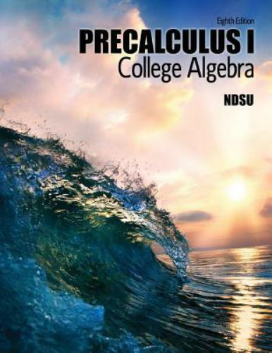 College Algebra Precalculus I: Study of Functions by TAYLOR  LARRY
