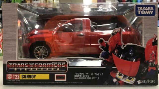 Dodge Ram Srt10 For Sale >> Transformers Binaltech Bt 22 Convoy Optimus Prime Dodge Ram Srt 10 Takara Misb