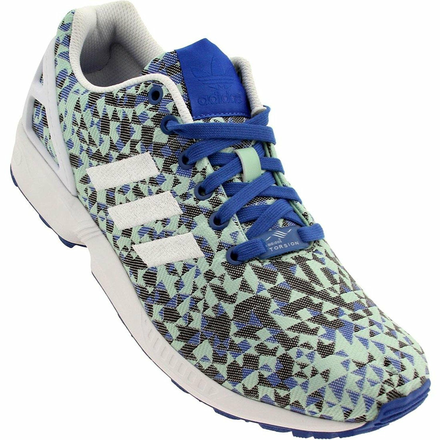 Adidas ADB34474- ADIDAS ZX FLUX WEAVE MENS RUNNING SHOES- Choose SZ color.
