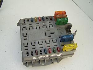 Fiat Punto Engine Fuse Box Wiring Diagram