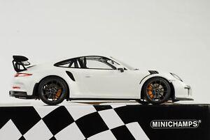 Porsche-911-991-GT3-Rs-White-2015-1-18-Minichamps-Diecast