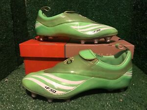 BNIB Adidas +F50.8 Tunit Laceless Green Limited Climacool Soccer ... f149ed4a6299c