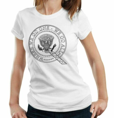 Deep State Conspiracy Plot QAnon President Seal Tshirt Fitted Ladies