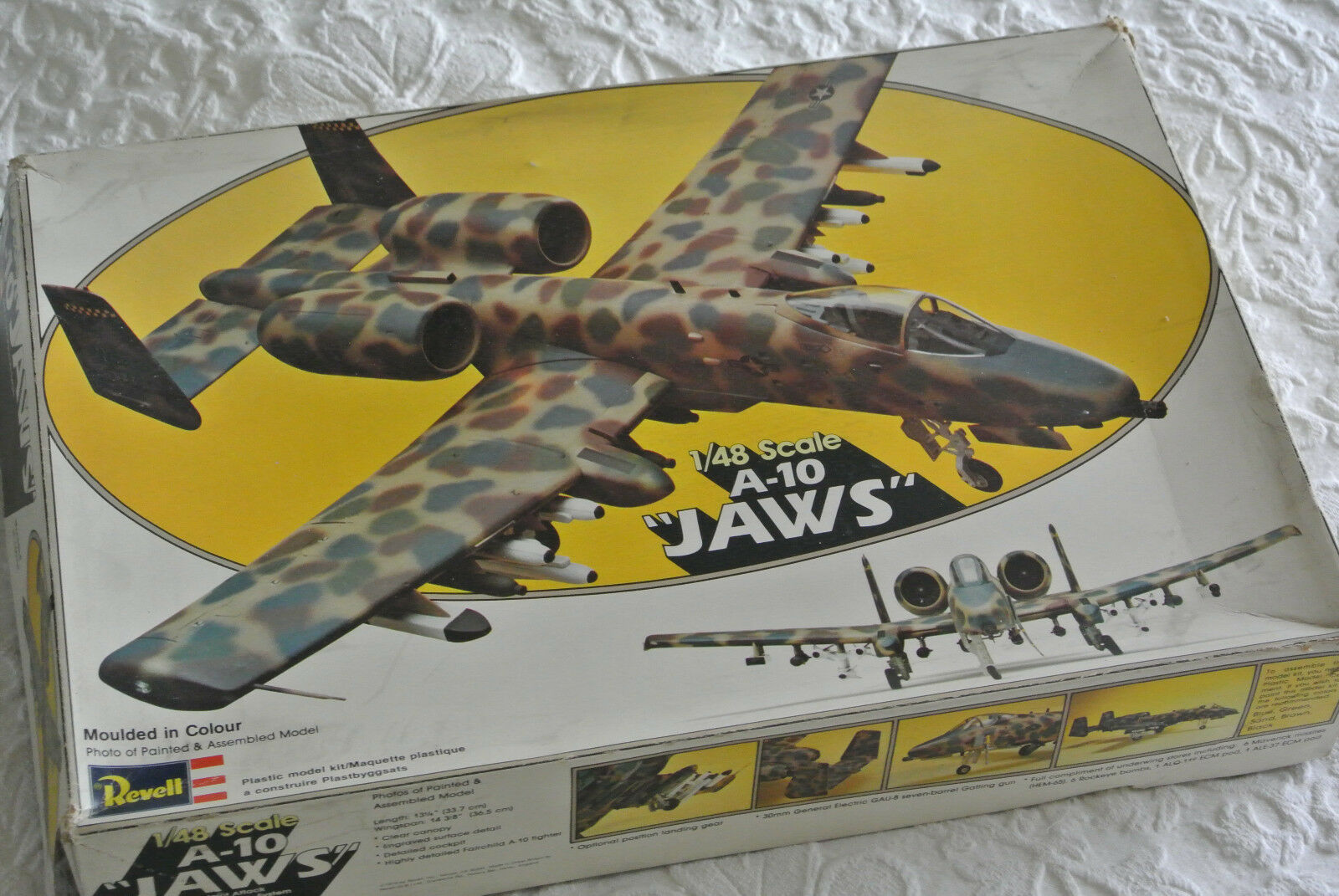 Revell 1 48 scale model kit -  A-10  JAWS