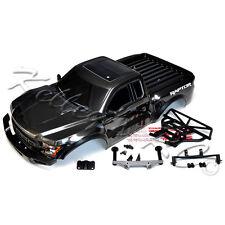 NEW Traxxas 2017 Ford Raptor Slash Body Gray Black w/Body Mounts Bumpers SCT 2WD
