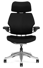 Humanscale Freedom Chair With Headrestleatherpolished Aluminum Frame