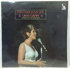 Vikki Carr - For Once In My Life LP 1969 Vocal Jazz / Easy Listening Liberty UK