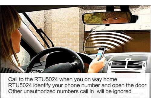 RTU5024 GSM SMS Tür Toröffner Garagentoröffner Fernbedienung Garagentor öffner