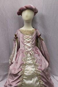 Deluxe Renaissance Medieval Queen Princess Dress Costume Tiara Cape Cosplay NEW