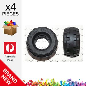 New 56891 4506553 Genuine Parts Tire37 x 18R ☀️ 4x LEGO™ Black Tyre