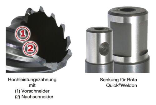 30mm Alfra Kernbohrer HSS-Co Kobalt RQX 49 1902049025
