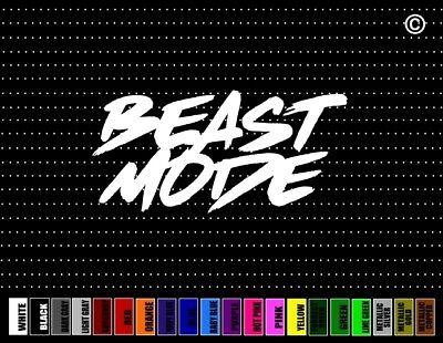 Beast Mode #3 Street Racing JDM Muscle 4x4 Lifted Car Decal Window Vinyl Sticker
