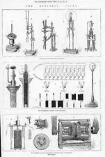1879 el agricultor-Wallace Dynamo Electro Máquina Wallace Lámpara luz eléctrica (101)