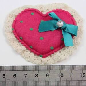 1-SEW-ON-SOFT-HEART-EMBELLISHMENT-75x64mm-ART-CRAFT-HABERDASHERY-CARDS-H1696