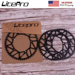 Litepro-130BCD-50-58T-Narrow-Wide-Chainring-Folding-Road-Bike-Chainwheel-Bolts