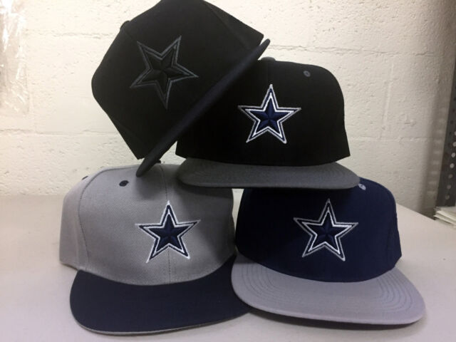 54b2c26b2 Dallas Cowboys Snap Back Cap Hat DAL Embroidered Adjustable Flat Bill Men