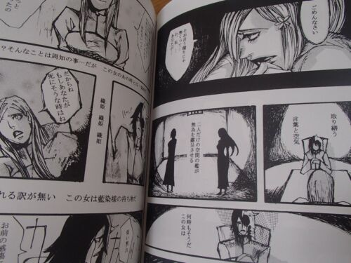 B5 154pages BLEACH doujinshi Ulquiorra X Orihime anthology Come on a my house