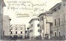 Caldonazzo via Cesare Battisti - 7° Alpini - Valsugana Trento fp vg1920 RIPARATA
