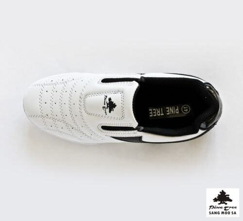 Sneakers Nero Tkd Scarpe Marziali Bianco Pantofola Taekwondo Budo Arti Tgl Nuovo AO7pqnw0