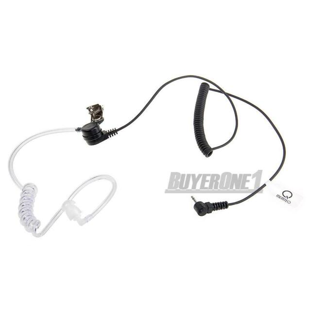 2.5mm Listen Only Acoustic Tube Earpiece Headset Mic 1 Pin for Ham Radio