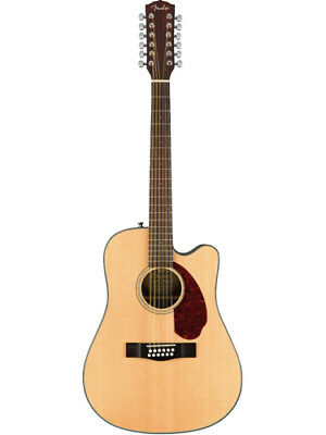 Fender Cd-140sce 12 String Natural Solid Top Acoustic-electric Guitar With Ha... Guitars & Basses