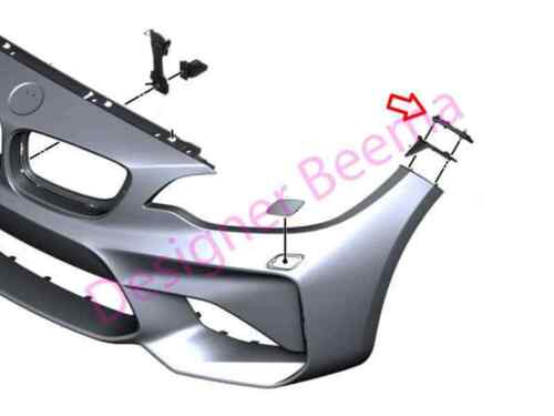 BMW 2/' Série M2 F87 Front Wing Panneau Support Gauche JS