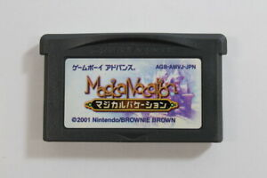Magical Vacation Nintendo Gameboy Advance GBA Japan Import US Seller MA424