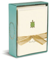 Turtle 10 Boxed Thank You Cards By Graphique De France
