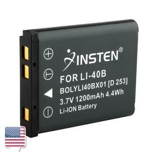 3-7V-1200mAh-Rechargeable-Li-Ion-Battery-for-Nikon-EN-EL10-Olympus-Li-40B-Li-42B
