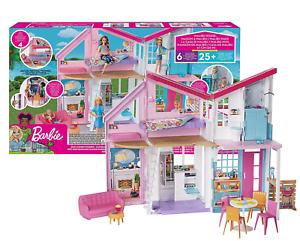 Kids Barbie Malibu House Playset Great Birthday Gift for Girls