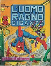 L'UOMO RAGNO GIGANTE n° 11 Ed. CORNO