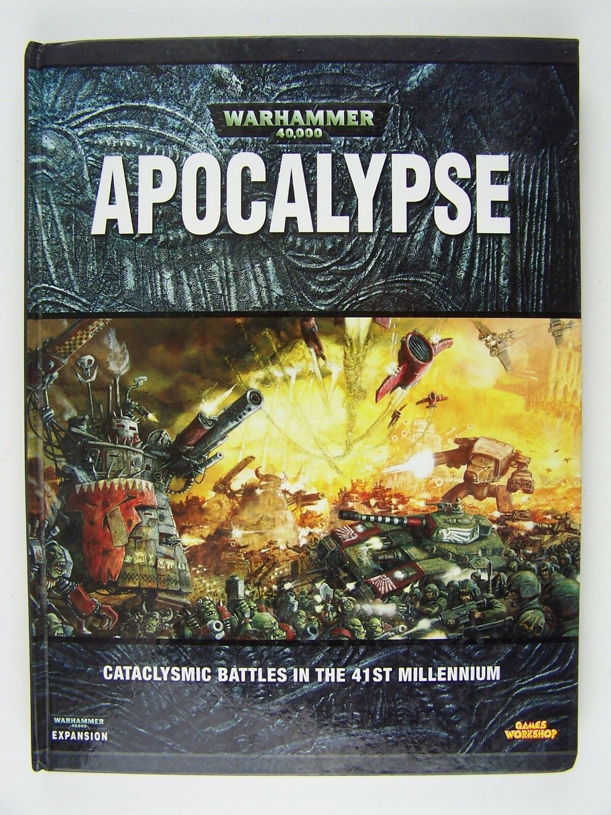 Warhammer 40000: Apocalypse Hardcover Book Games Worksh