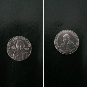 Citta-del-Vaticano-moneta-100-lire-Papa-Giovanni-Paolo-II-del-1990-RARA