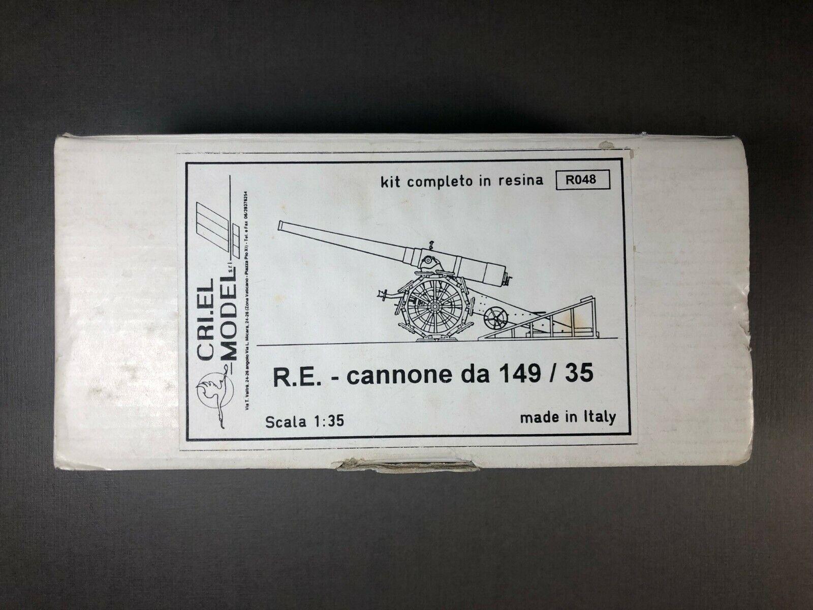 estilo clásico Italian Heavy Gun Cannone da 149 35 1 1 1 35 Resin Criel Crielmodel R048 Cri.el  Ven a elegir tu propio estilo deportivo.