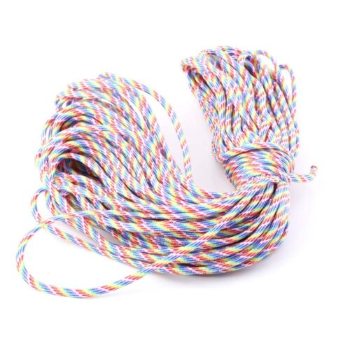 Camping & Outdoor Notfallausrüstung 30M 550 Paracord Parachute Cord Lanyard Mil Spec Type III 7 Strand Core100FT BS
