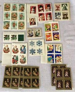 United-States-Postal-Service-Christmas-Winter-Stamps-Unused-Approx-60