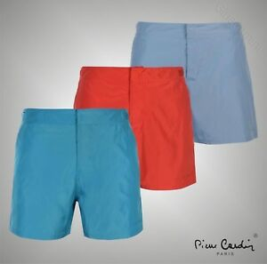 2dde20fbda08 Mens Designer Pierre Cardin Summer Mid Length Swim Shorts Swimwear ...