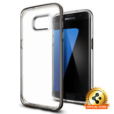 [Spigen Outlet] Samsung Galaxy S7 Edge [Neo Hybrid Crystal] Gunmetal Bumper Case