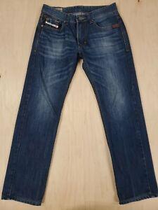 684-DIESEL-Industry-Denim-JEANS-1978-Dark-Wash-31x30-Mens-100-Cotton