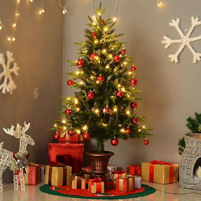 HOMCOM Weihnachtsbaum Tannenbaum 100 LEDs 668 Spitzen