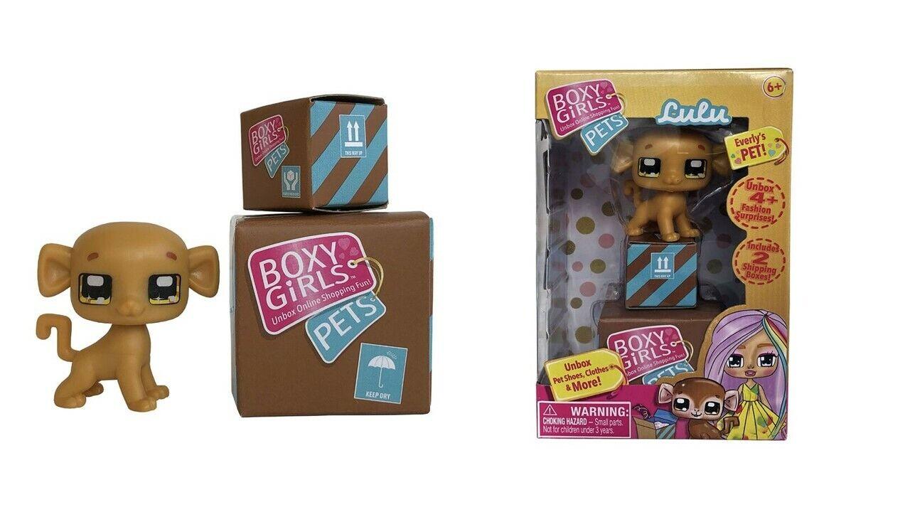 Boxy Girls Pets Lulu The Stylish Monkey With 4 Fashion Surprises New In Box