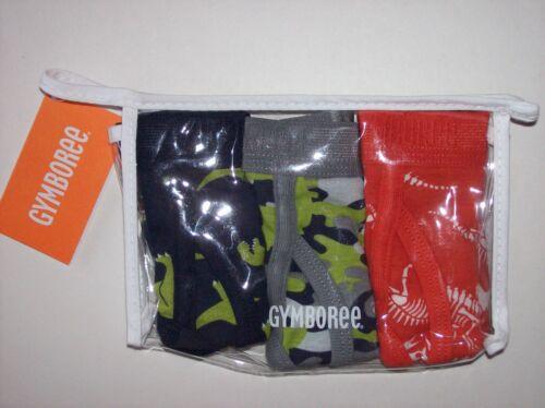 Gymboree Underwear Underpants Briefs Boys 3 Pair Cotton Assorted XS S M New