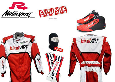 MARTINI GO KART RACING SUIT Printing with Shoes and Gloves by FR1