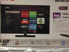"New JVC Emerald Series 42"" LED 1080p TV 120 Hz EM42FTR Roku Smart TV"