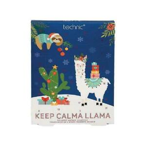 Technic-Llama-Advent-Calendar-Christmas-Gifts-Toiletries-Soap-Fizzers