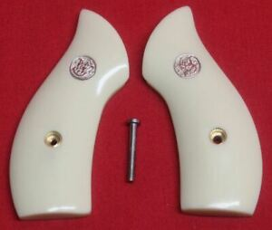 Smith-amp-Wesson-J-Frame-Round-Butt-Ivory-Grips