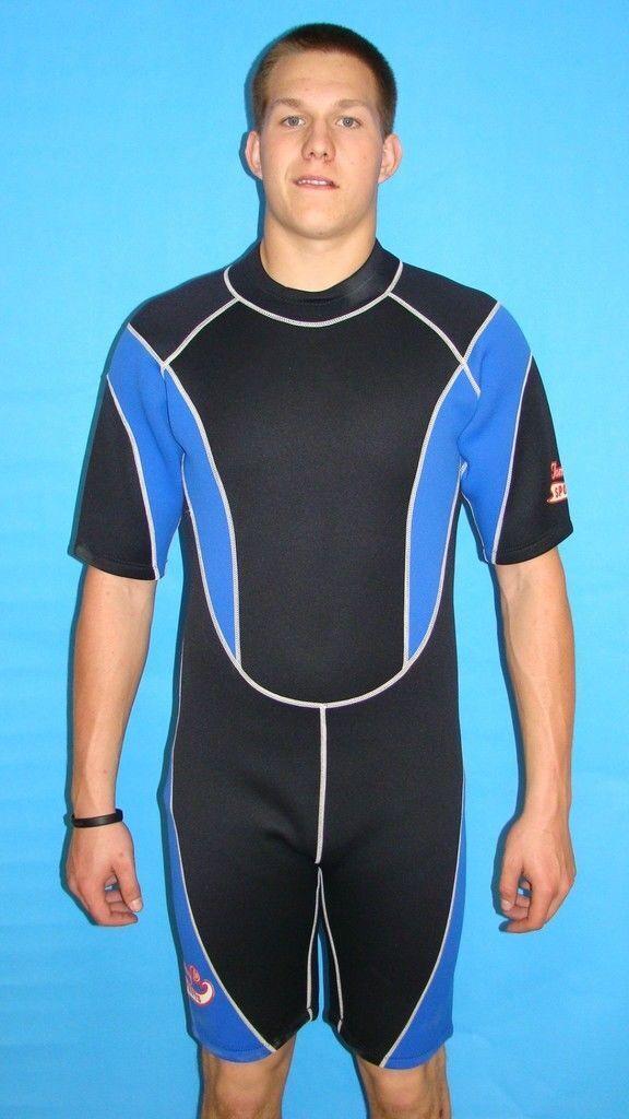 Wetsuit 3MM XL New Mens Shorty Scuba  Surf Dive  9804  discount